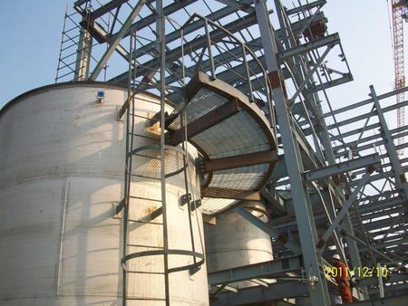 锅炉厂环形钢梯