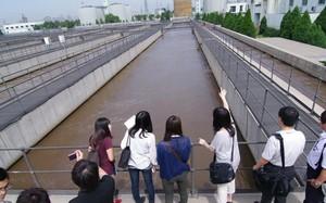 污水处理厂走道