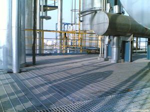化工厂作业平台
